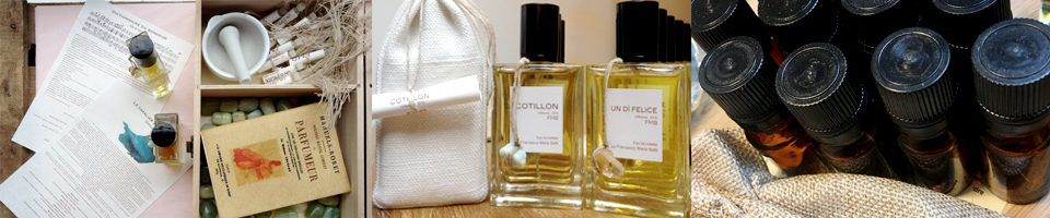 Parfum artisanal naturel, eaux de toilette 100% naturel, laboratoire au 58 rue de Saussure, Paris XVII